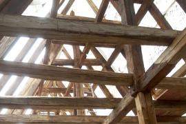 Instandsetzung alter Tragwerke für neue Dachdeckungen
