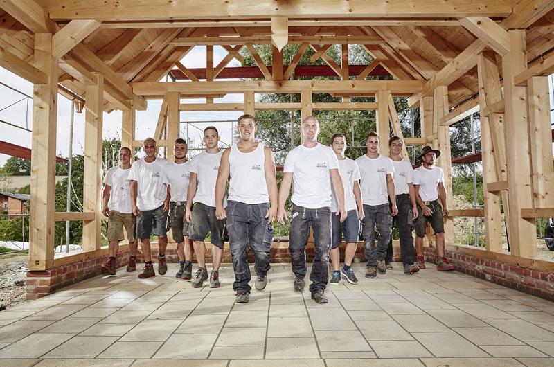 Team Zimmerei und Holzbau