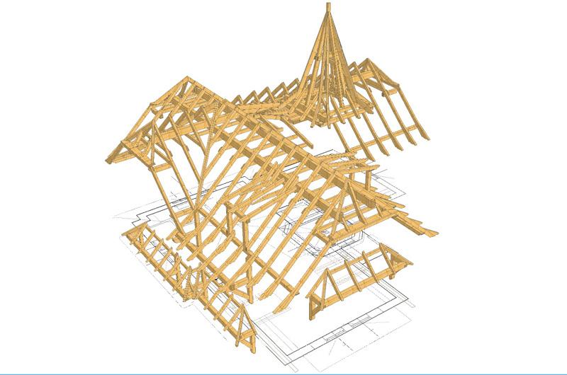 3D Konstruktions-Ansicht