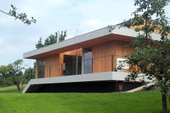 Fertige Ansicht mit Fassade-